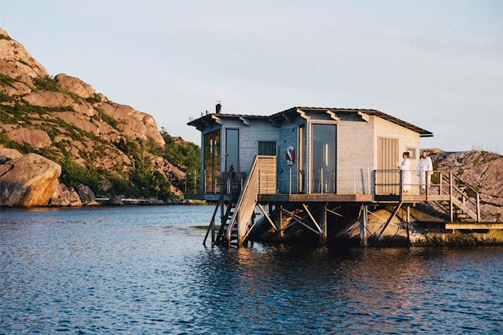 Björholmens Marina övernattning för 2 personer