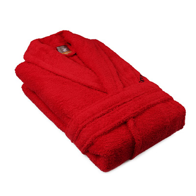 Red, M/L, Beverly Hills Polo Club Unisex Bathrobes, Morgonrock,  (1 av 1)