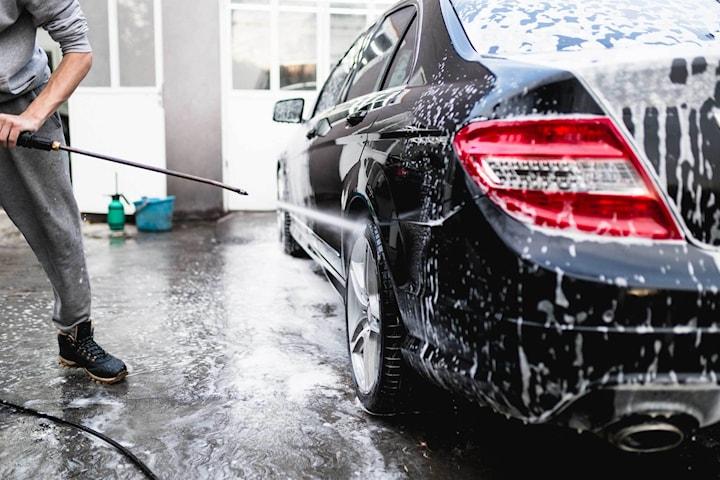 Helrekond med eller utan motortvätt