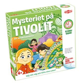 Mysteriet på Tivolit, Story Game Med Äventyrsbok, Story Game Med Äventyrsbok,