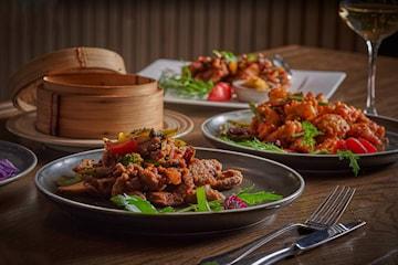 Nydelig 6-retters meny hos Foodie restaurant - kun 249 kr per person