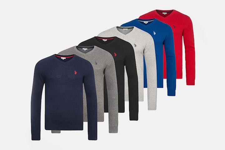 US Polo v ringad tröja