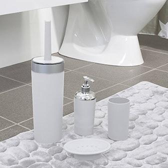 Vit, Duschy bathroom package, Duschy badrumsset,