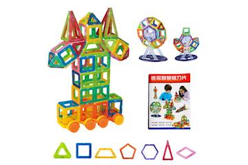 Byggdelar för barnlek - En perfekt present för barn (124 st)