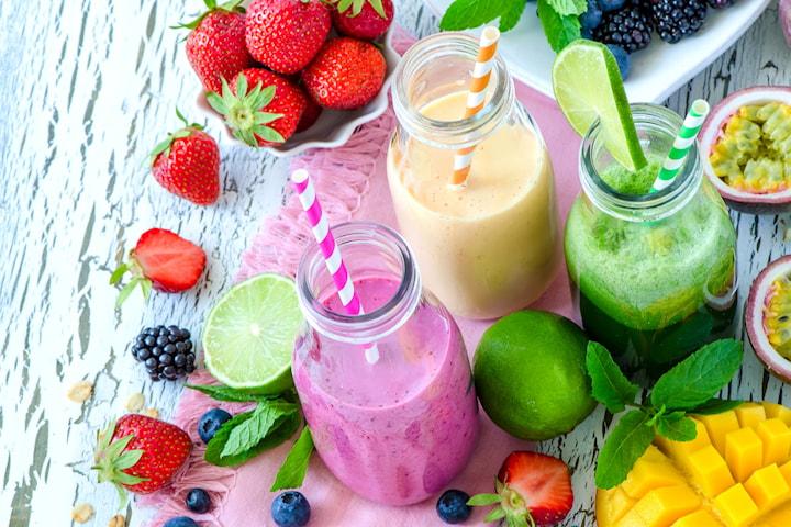 Valfri juice från nyöppnade Pic n Squeeze