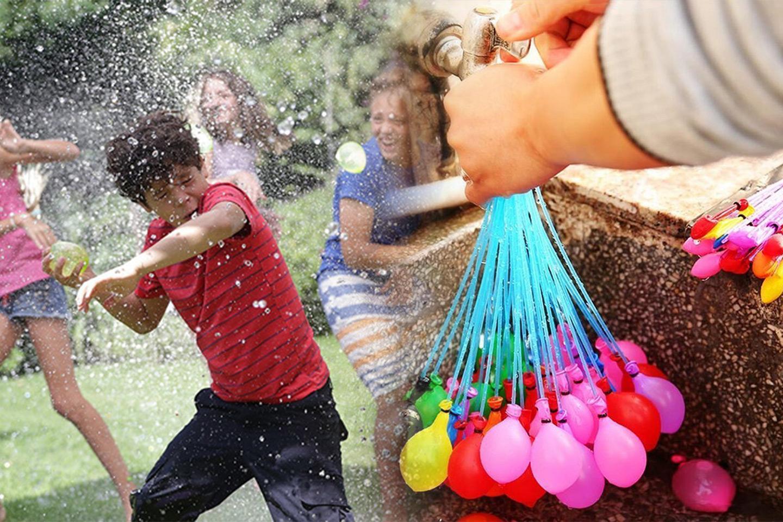Vannballonger som fylles raskt og er selvknytende (1 av 8)