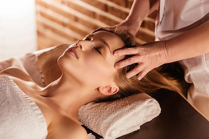 Avkopplande behandling av hårbotten