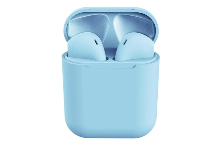 i12 Trådløse Hodetelefoner - Blå