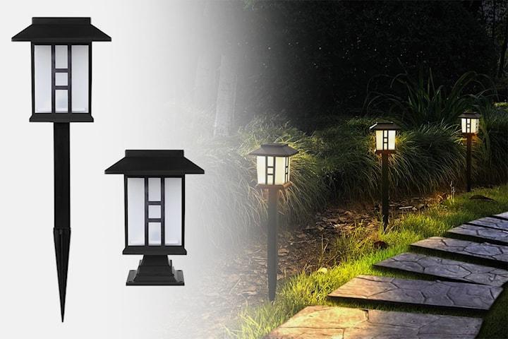 Sollampe for hagen