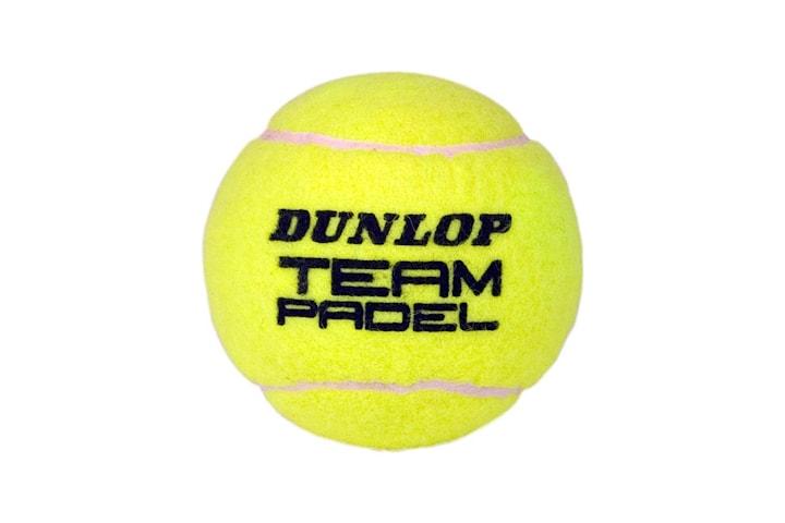 Dunlop, 15x Padelballer - Team Padel