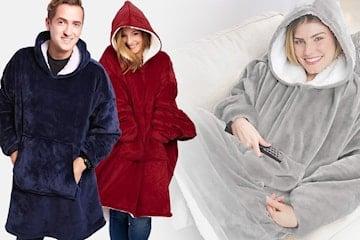 Varm og kosete oversize genser
