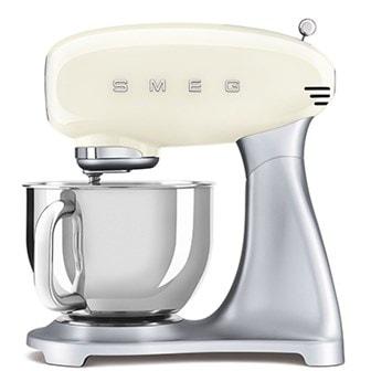Krem, NORGE - Smeg kitchen machine SMF02, 4.8 L, Smeg SMF02 kjøkkenmaskin,