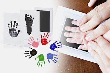 Baby hånd og fotavtrykk-sett