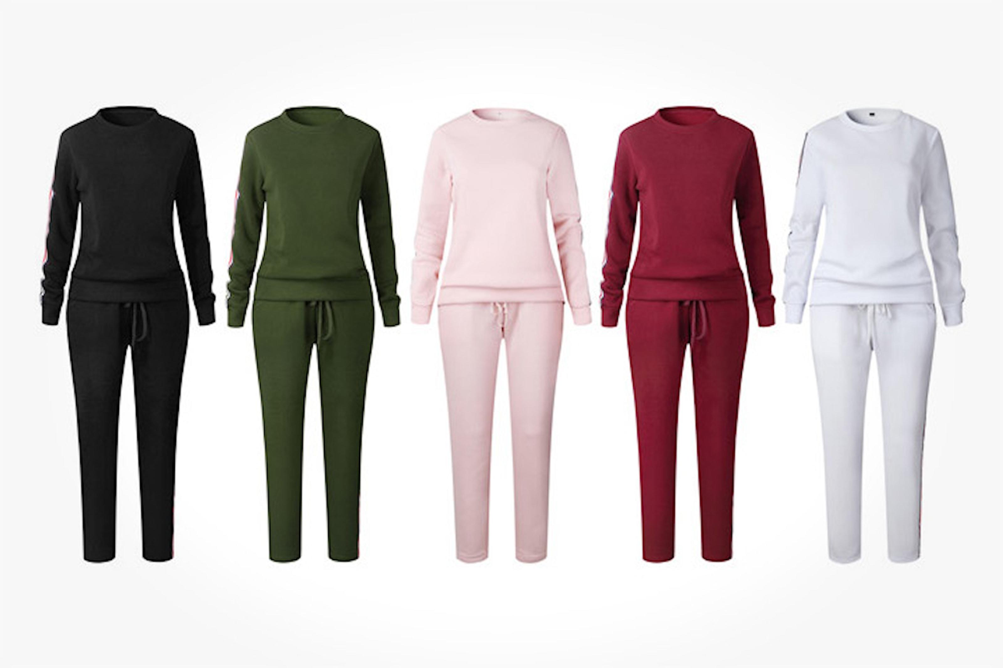 Matchende sett med genser og bukse
