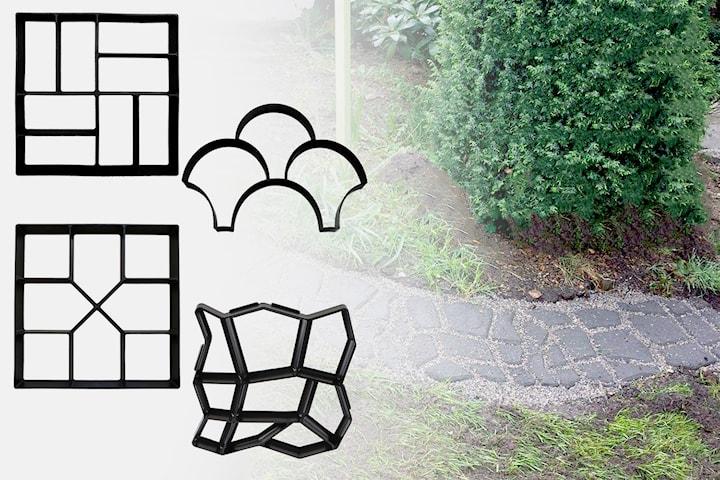 Gjutform för trädgården