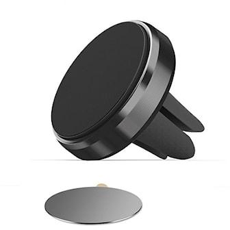 Svart, Magnet phone holder, Magnetisk telefonholder, ,