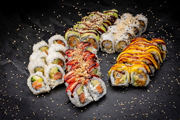 Takeaway sushi-pakke Californian Dream fra Sushimi