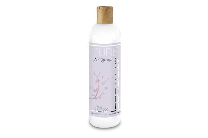 Attitude PURE No Yellow Silver Shampoo 500ml