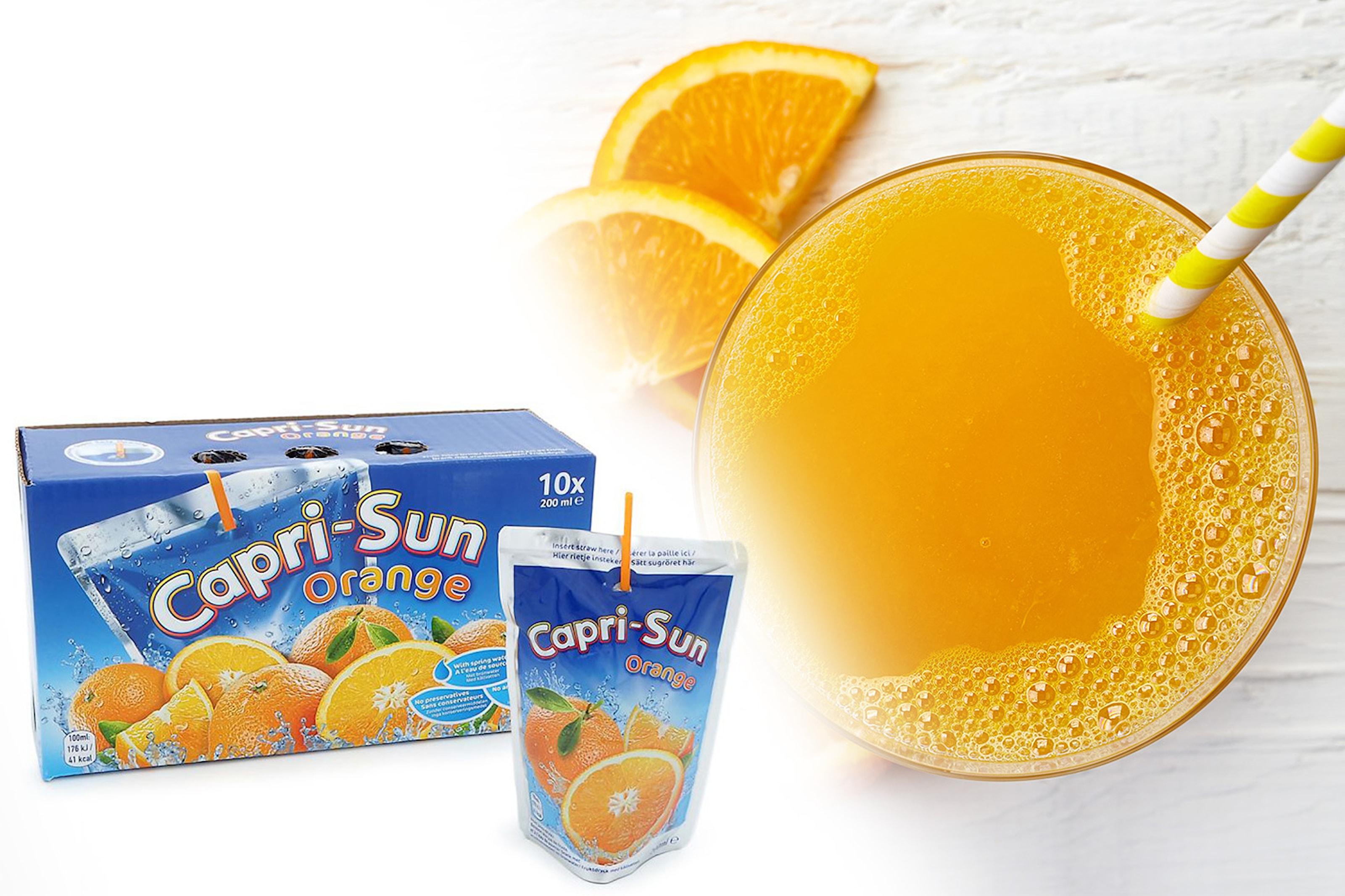 Capri-Sun Orange, 40-pack