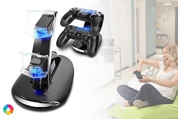 Laddningsstation för PS4-kontroller