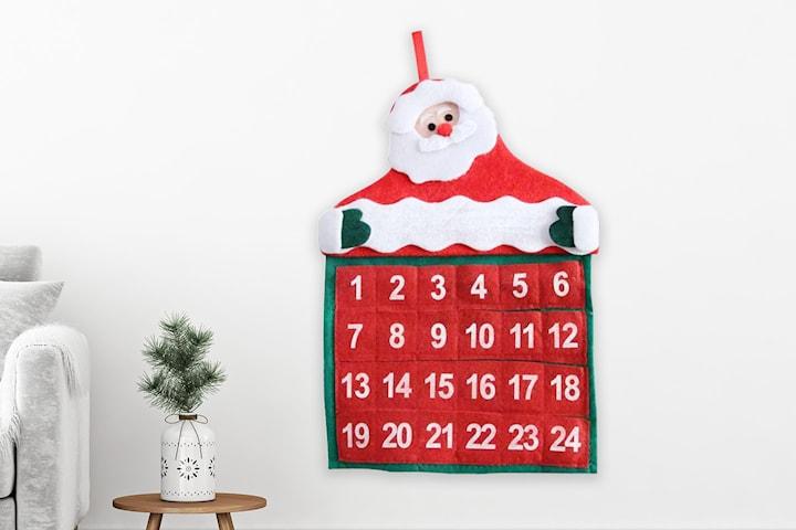 Adventskalender jultomte