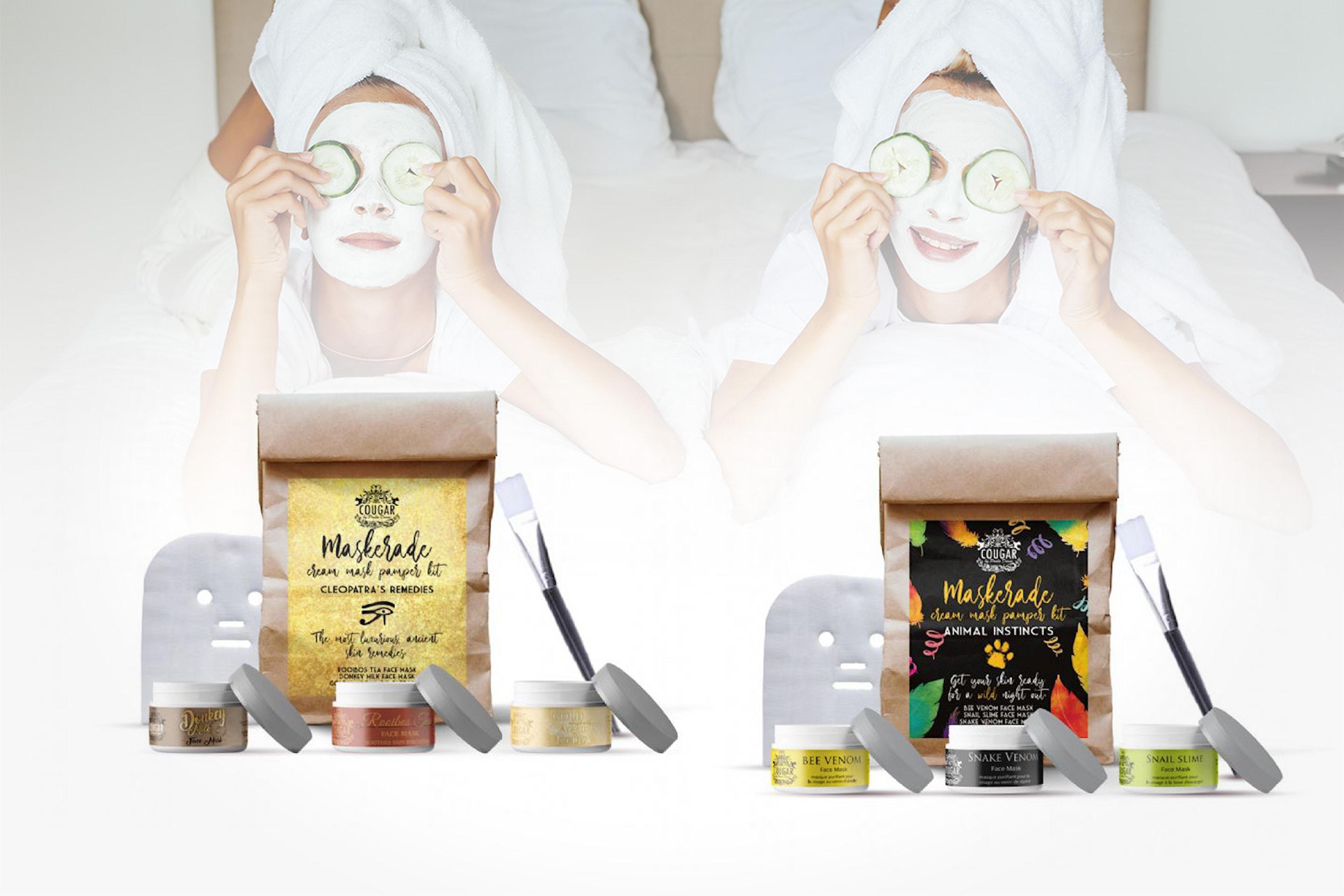 Ansiktsmask-kit i 5 delar