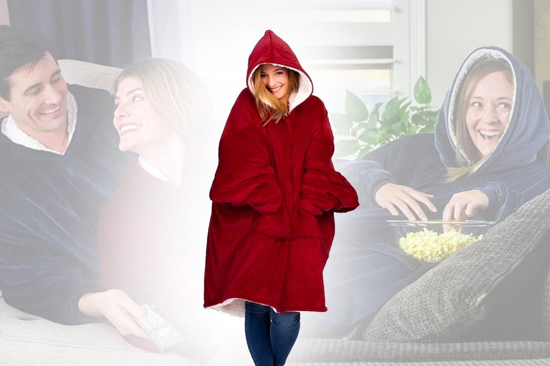 Varm och skön oversize-tröja (1 av 11)