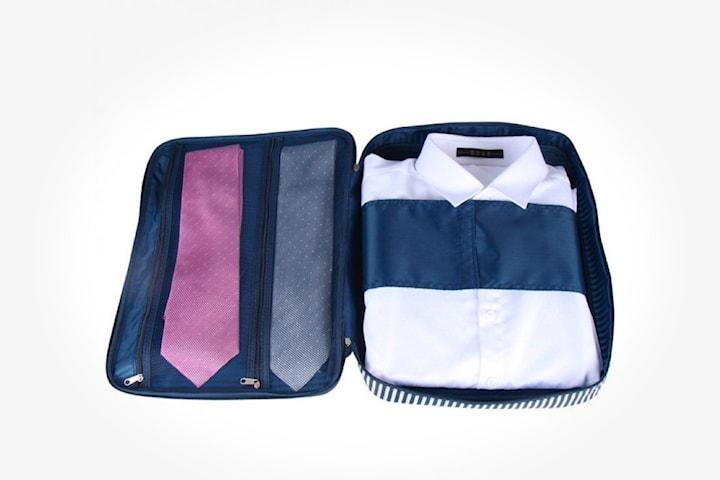 Förvaringspåse för skjorta och slips