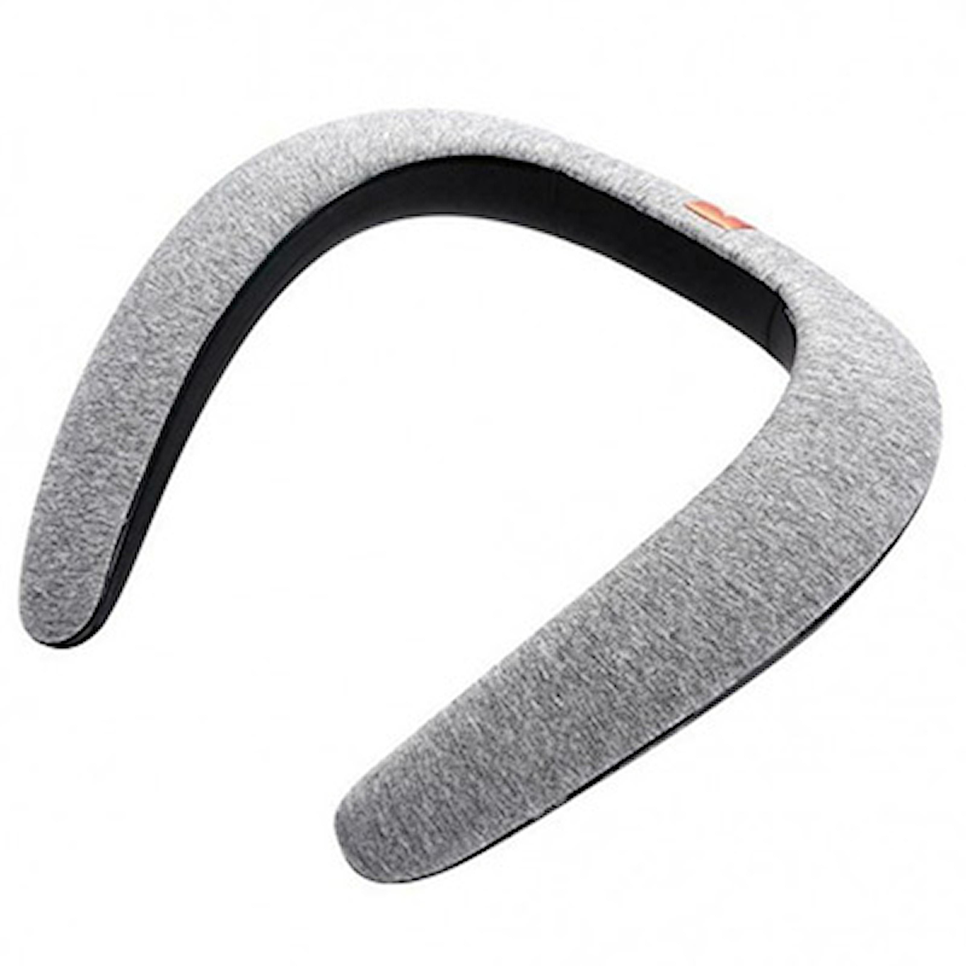 Grå, Portable Neck Bluetooth Speaker, Trådløs Bluetooth-høyttaler, ,