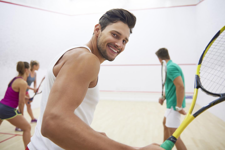 En, tre eller fem timer Squash hos Drammen Squash (1 av 2)