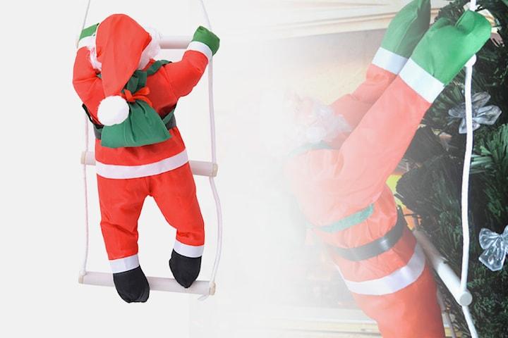 Klatrende julenisse