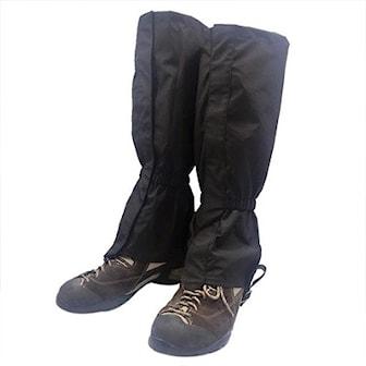 Svart, Leg Warmer Shoe Covers, Gamasjer, ,