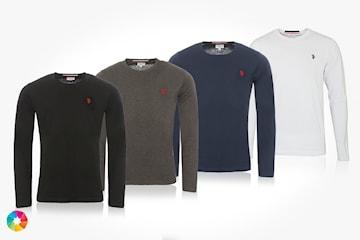 Långärmad tröja från US Polo
