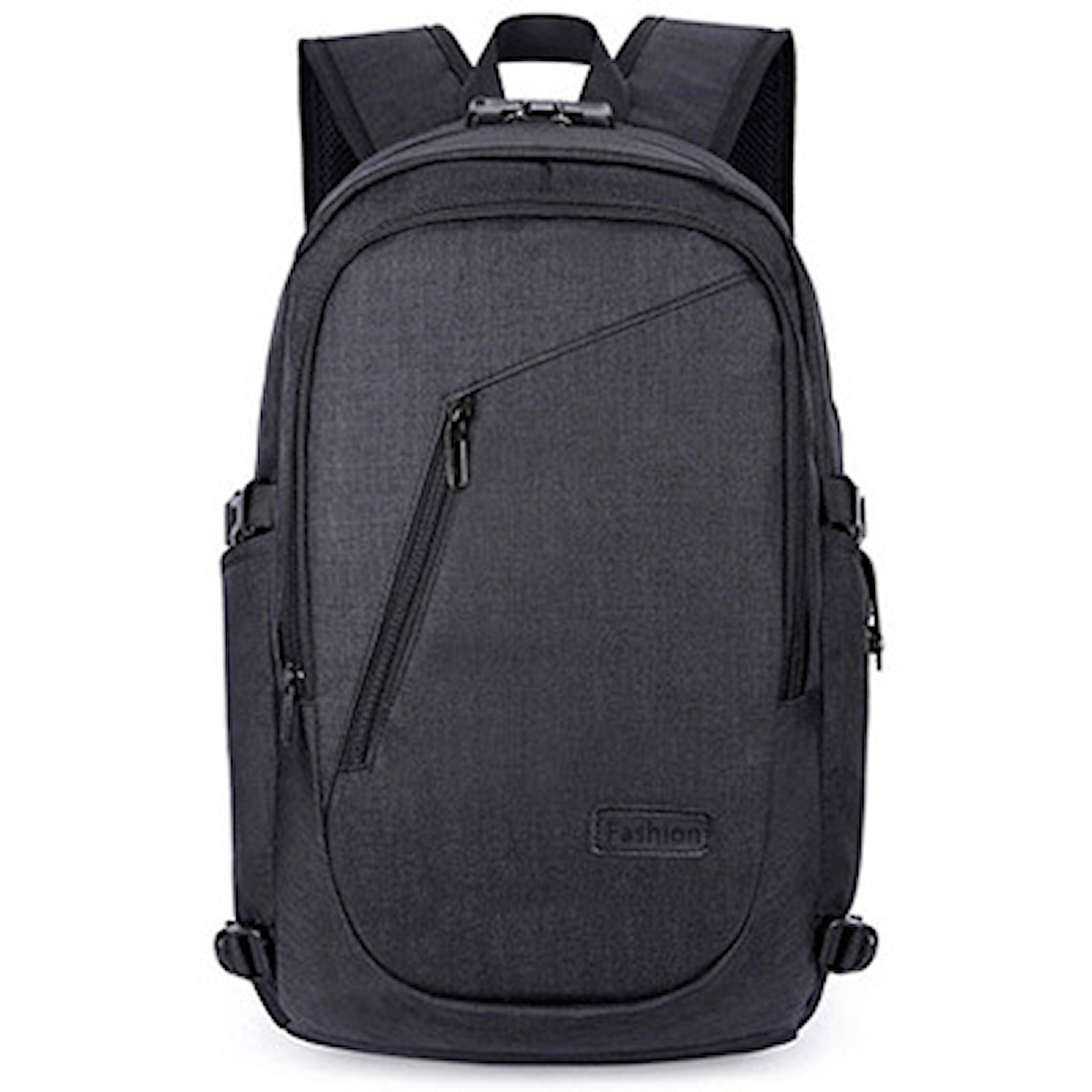 Musta, Backpack with gadgets, Fiksu selkäreppu, ,
