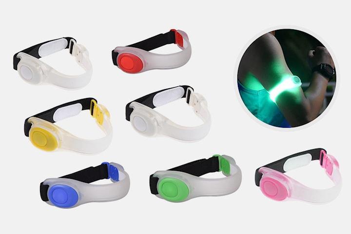 Armbånd med LED-lys
