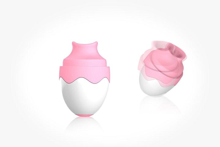 Klitorisvibrator med det lilla extra