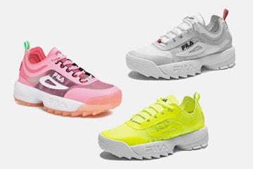 FILA Disruptor Run sneakers i dammodell