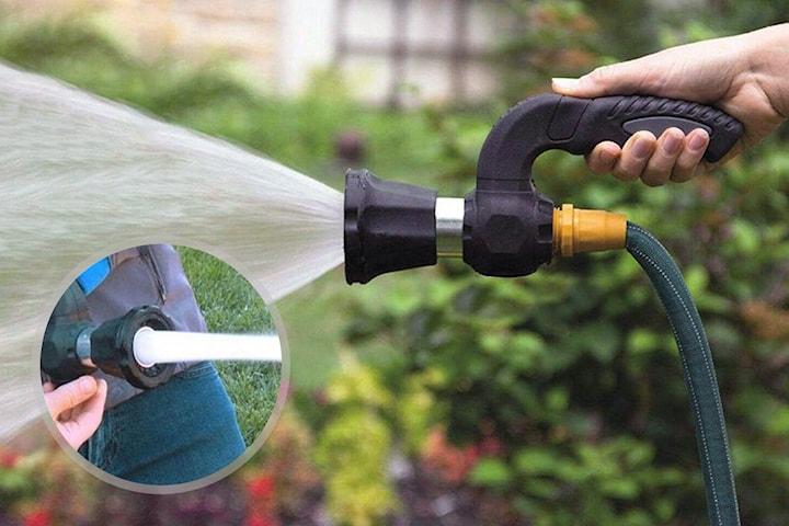 Munnstykke for vannslange