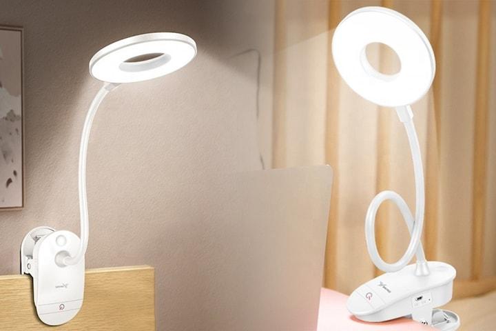 LED-lampa med tre ljuslägen