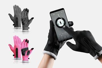 Vanntette hansker med touch-funksjon
