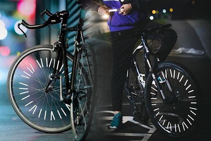 Reflexer för cykelhjul