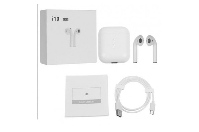 Apple-kompatibla trådlösa hörlurar
