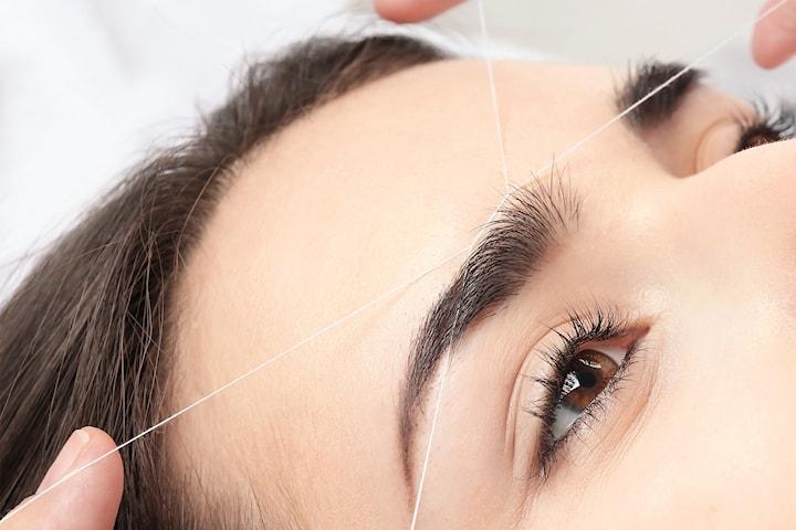 Threading av ansikt og øyenbryn hos EHV Salong