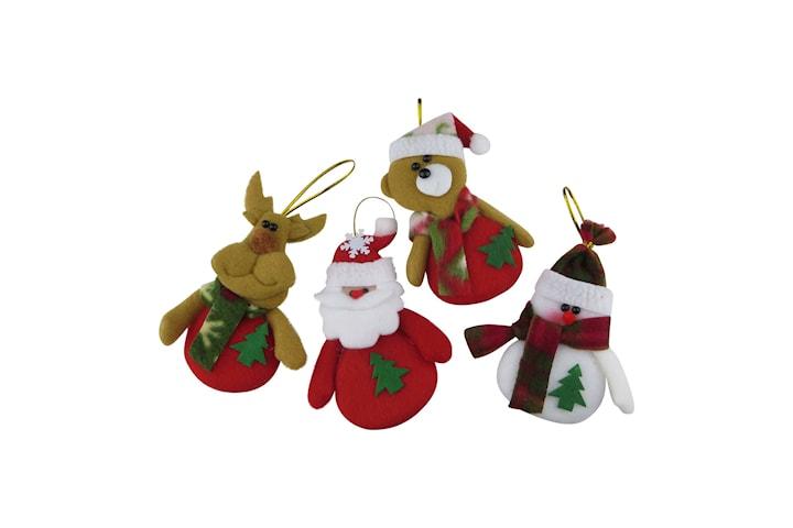 Juledekorasjoner av Stoff