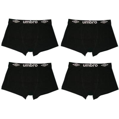 Svart, L, 4 Pack UMBRO, Boxer shorts, Umbro boxershorts 4-pack,  (1 av 1)