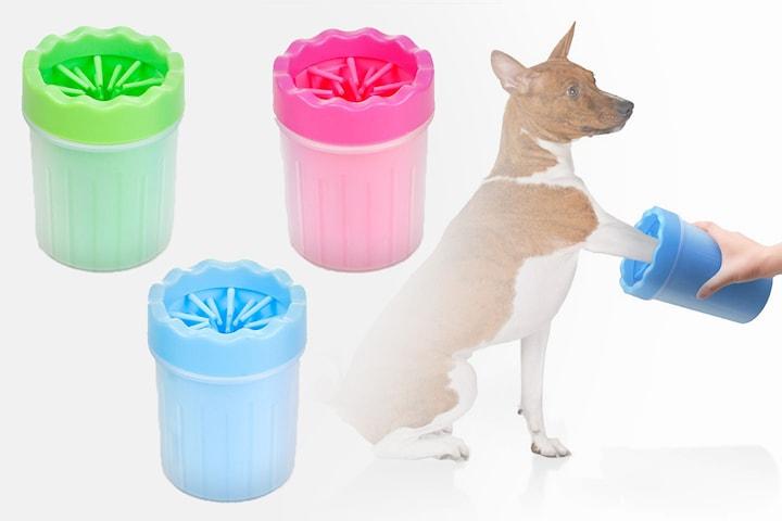 Tasstvätt hund