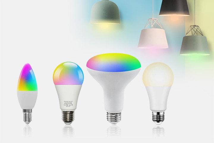 Smart LED-lampa