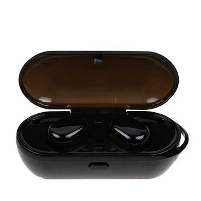Svart, T2C TWS Wireless Mini Bluetooth Earphone, T2C TWS Trådløse øretelefoner, ,  (1 av 1)