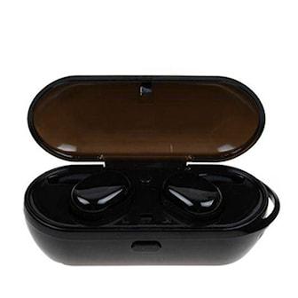 Svart, T2C TWS Wireless Mini Bluetooth Earphone, T2C TWS Trådløse øretelefoner, ,