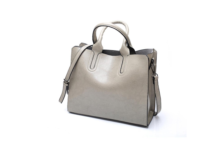 Handväska i PU-läder